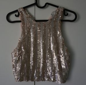 Sequin top Forever 21